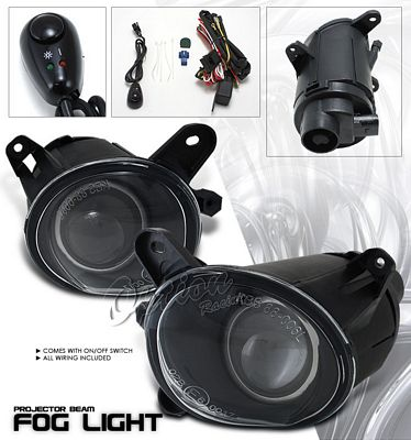 VW Passat 2001-2005 Clear Projector Fog Lights Kit