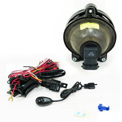 Chevy Impala 2006-2012 Clear Projector Fog Lights Kit