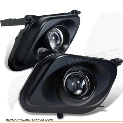 Mercedes benz e class 1996 1999 black projector fog lights for Mercedes benz projector lights