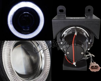 GMC Sierra Denali 2002-2006 Halo Projector Fog Lights