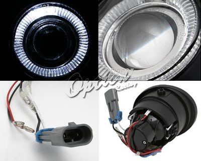 Nissan Altima 2002-2004 Halo Projector Fog Lights