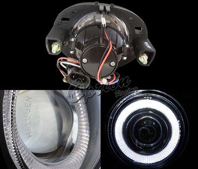 Dodge Caravan 1999-2004 Halo Projector Fog Lights