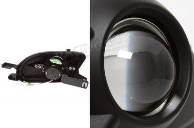 Mercedes Benz SLK 1998-1999 Black Projector Fog Lights