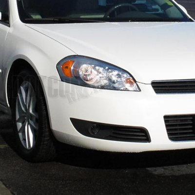Chevy Impala 2006-2012 Smoked Projector Fog Lights Kit