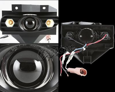 Ford Mustang 1999-2004 Projector Fog Lights with LED
