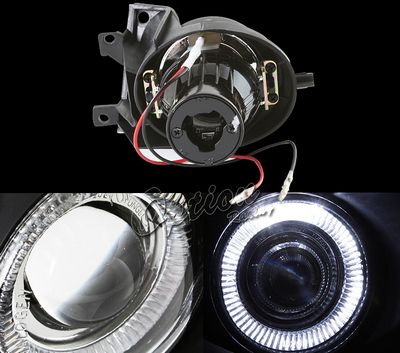 BMW E39 5 Series 2001-2003 Halo Projector Fog Lights