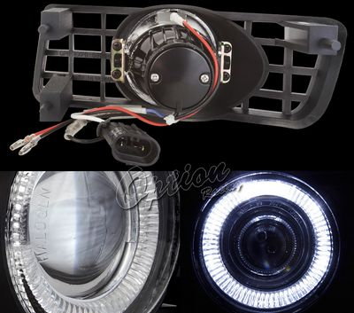 Ford Expedition 2003-2006 Halo Projector Fog Lights