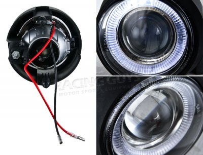 Nissan Titan 2004-2007 Halo Projector Fog Lights