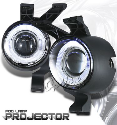 VW Beetle 1998-2005 Clear Halo Projector Fog Lights