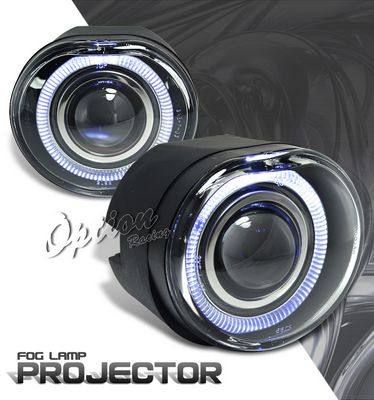 Jeep Liberty 2002 2004 Halo Projector Fog Lights A1018pug169 Topgearautosport