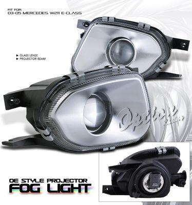 Mercedes Benz E Class 2003-2006 OEM Style Projector Fog Lights
