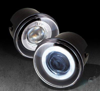 Dodge Charger Tail Lights >> 2006 Dodge Charger SRT8 Halo Projector Fog Lights ...