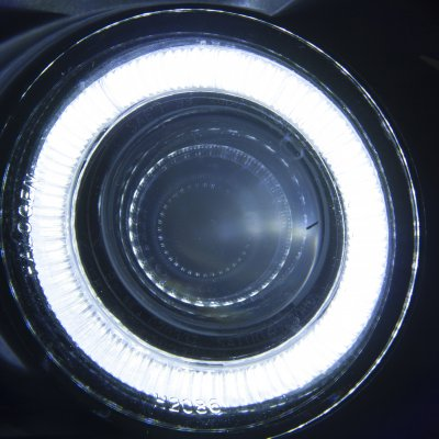 Ford F150 1999-2003 Clear Halo Projector Fog Lights ...