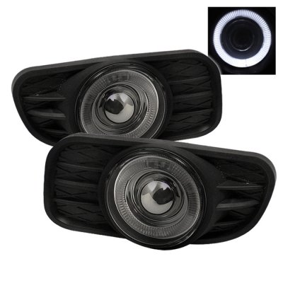 Jeep Grand Cherokee 1999-2004 Smoked Halo Projector Fog Lights