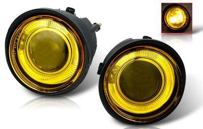 Nissan Murano 2003 2004 Yellow Halo Projector Fog Lights