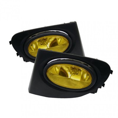Honda Civic Si 2002-2005 Yellow JDM Style Fog Lights Kit
