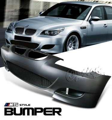 Jeep Wrangler Fog Lights >> BMW E60 5 Series 2008-2009 M5 Style Front Bumper ...