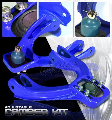 Honda Civic 1992-1995 Blue Front Camber Kit