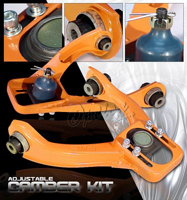 Honda Civic 1996-2000 Orange Front Camber Kit