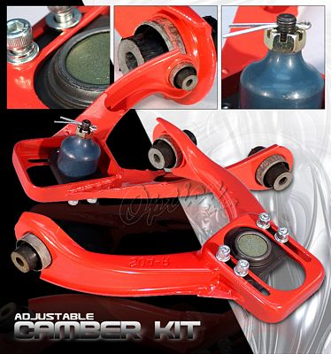 Honda Civic 1996-2000 Red Front Camber Kit