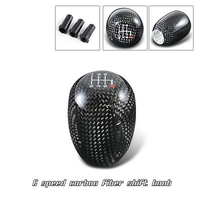 Carbon Fiber 6 Speed Manual Shift Knob