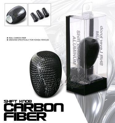 Honda Carbon Fiber Thread Manual Shift Knob