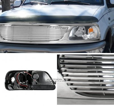 how to replace headlight assembly 2000 ford f150