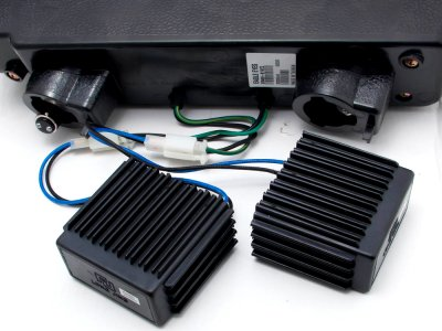 GMC Suburban 1994-1999 Black Billet Grille and Headlights LED Bumper Lights