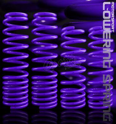 Honda Prelude 1997-2001 Purple Lowering Springs