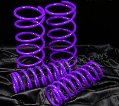 Ford Focus 2000-2005 Purple Lowering Springs