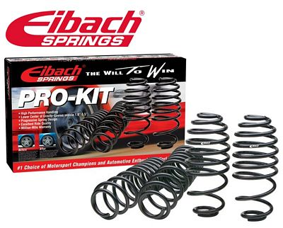 Ford Mustang V6 Convertible 1999-2004 Eibach Pro Kit Lowering Springs