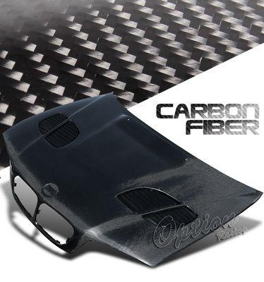 BMW E46 Coupe 3 Series 1999-2001 GTR Style Carbon Fiber Hood