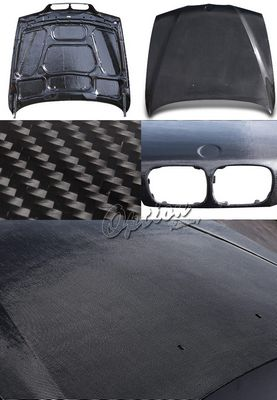 BMW E39 5 Series 1997-2003 Carbon Fiber Hood