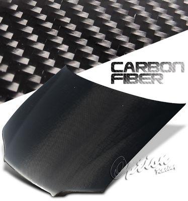 Honda Accord Sedan 1998-2002 OEM Style Carbon Fiber Hood