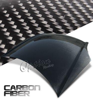 Honda Civic Si Hatchback 2002-2005 OEM Style Carbon Fiber Hood