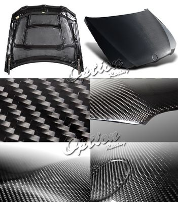 BMW E92 Coupe 3 Series 2007-2009 OEM Style Carbon Fiber Hood