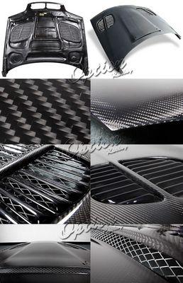BMW E46 Sedan 3 Series 1999-2001 GTR Style Carbon Fiber Hood