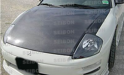 Mitsubishi Eclipse 2000-2005 SEIBON OEM Style Carbon Fiber Hood