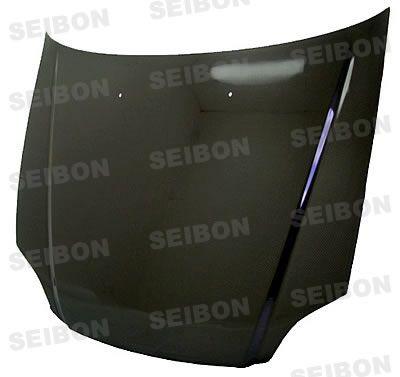 Honda Civic 1999-2000 SEIBON OEM Style Carbon Fiber Hood