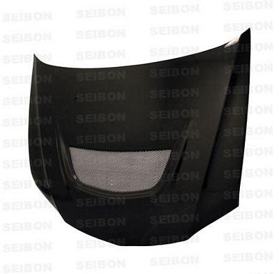 Mitsubishi Lancer Evolution 2003-2007 SEIBON OEM Style Carbon Fiber Hood