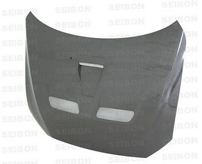 Mitsubishi Lancer Evolution 2008-2009 SEIBON OEM Style Carbon Fiber Hood
