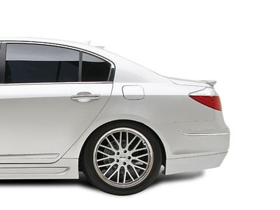 Hyundai Genesis 2009 Sedan RKSport Carbon Fiber Roof Spoiler