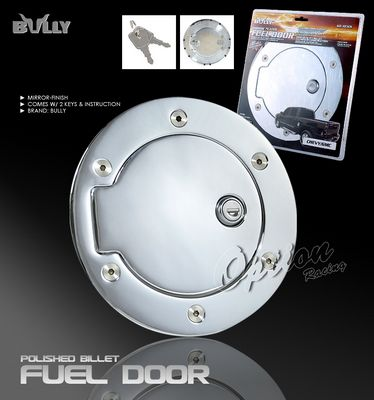 Chevy Silverado 2007 2010 Bully Chrome Fuel Door Cover