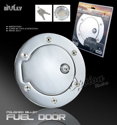 Dodge Ram 2002-2005 Bully Chrome Fuel Door Cover with Lock