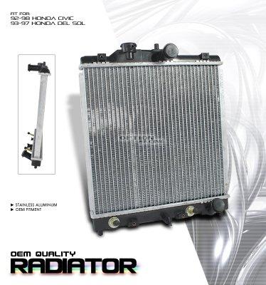 Honda Civic 1996 2000 OEM Radiator A1011VBY194