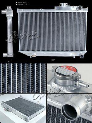 Toyota Corolla GTS 1984-1987 Performance Aluminum Radiator