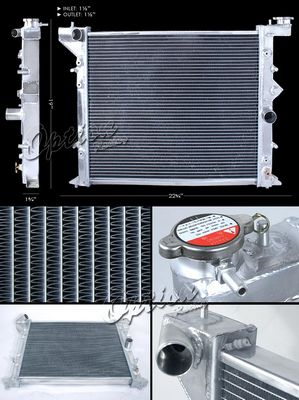 Toyota Mark II 1993-1997 Performance Aluminum Radiator