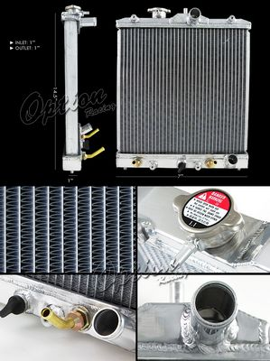 Honda Civic AT 1992-1995 Performance Aluminum Radiator
