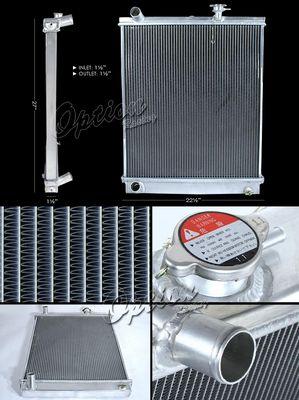 Isuzu NPR Diesel 1999-2003 Performance Aluminum Radiator
