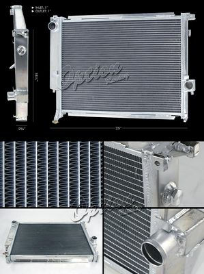 BMW E30 3 Series 1988-1991 Performance Aluminum Radiator